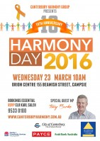 Harmony Day Photshop 2016